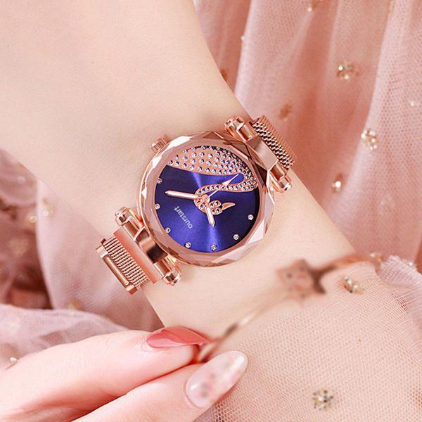 Women Watches Luxury Diamond Swan Ladies Wrist Watches Bracelet Watch For Female Clock Fashion
