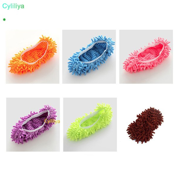Dust Cleaner Grazing Slippers House Bathroom Floor Cleaning Mop Cleaner Slipper Lazy Shoes Cover Microfiber Mop Caps 200Pcs