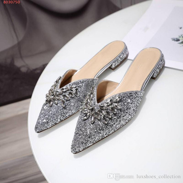 Classic Tide product women New Slippers, Diamond style women shoes,Unique fashion design Slippers,hot sale in
