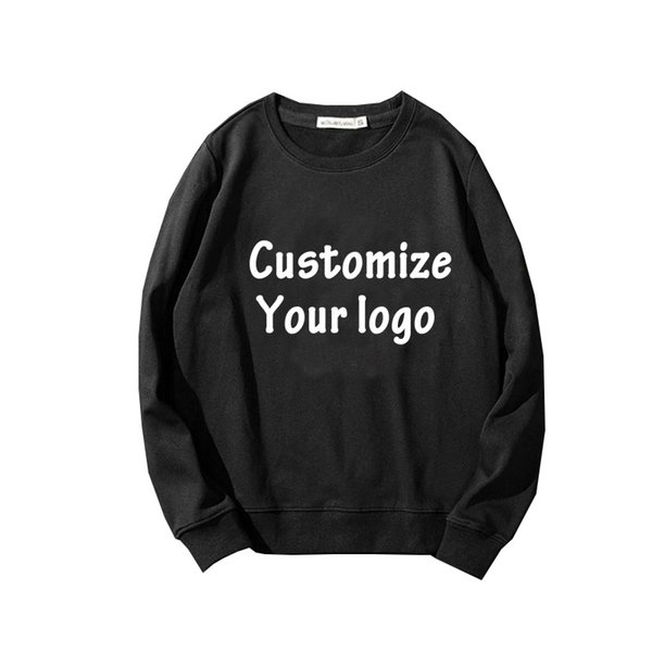 Custom Sweatshirts Men Hoodies DIY Printed Pattern Customized Design Valentines Day Gift Casual 2019 Hoody Drop Shipper Clothes