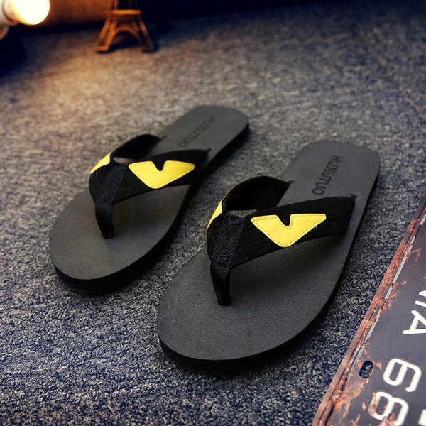 Designer de chinelos moda leve antiderrapante chinelos masculinos sandálias casuais antiderrapante verão chinelos casuais hipster must-have tamanho 36-44
