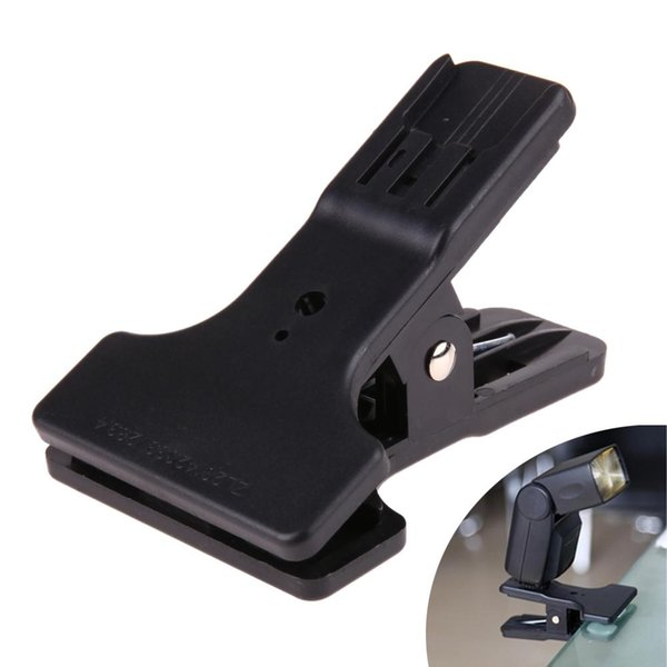 Hotshoe Clip Clamp Mount for Canon Nikon YongNuo Flash Speedlite Light LED Video light Table Mini Stand Holder for Flash 25