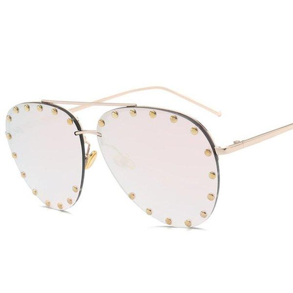 Color de lentes: c5 espejo rosa