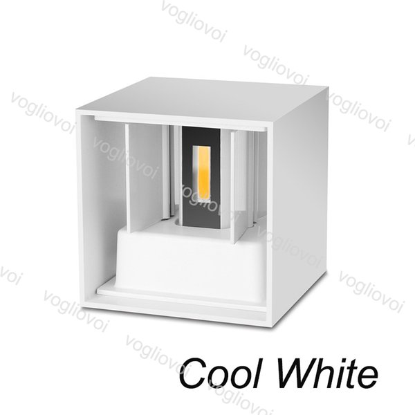 7W Cool White(White Lampshape)
