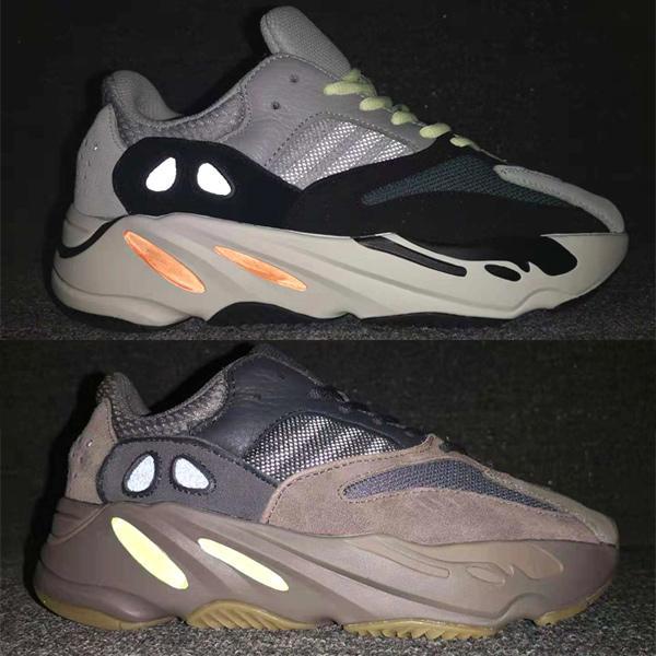 Dalga Koşucusu 700 Ayakkabı Geldi, Kanye West, Mıknatıs Vanta Tuz Ataletini Vurdu, Tephra Saldırısı - Koşucu 700 v2 Statik Leylak Rengi Düz Gri Spor Ayakkabı