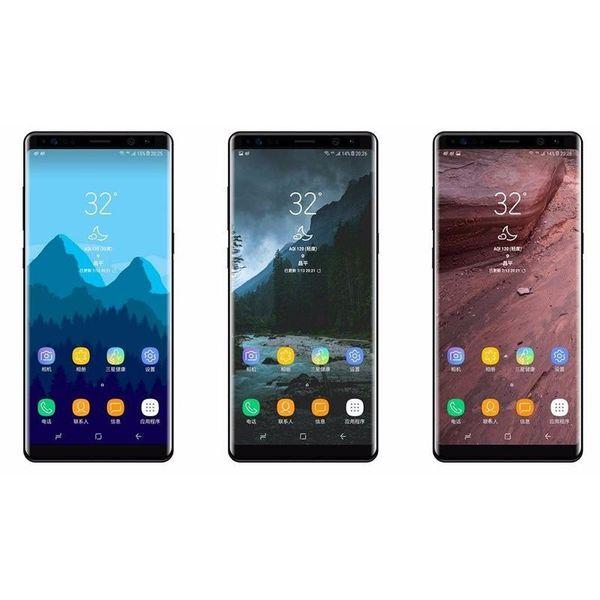 "Real Fingerprint Goophone 9 Plus 1GB RAM 16GB ROM Android 8.0 Quad Core MTK6580 6.2"" HD 1440*720 8MP 3G WCDMA Phone"