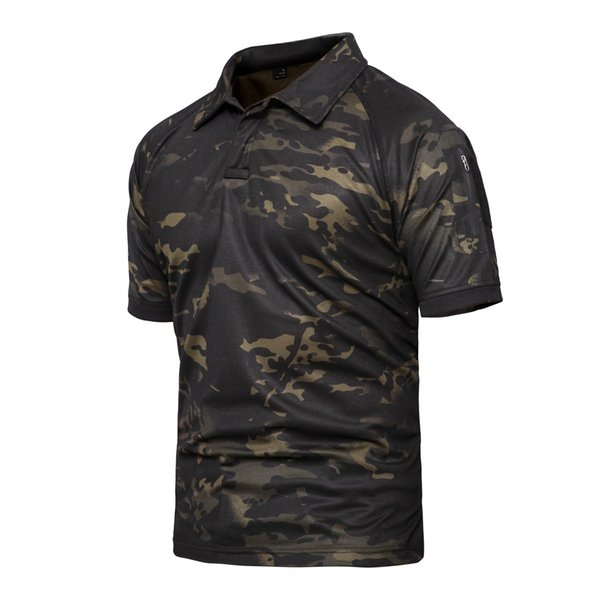 Shanghai Story Tactical Gear Military Airsoft Special Ops Combat Shirt Camouflage Light Weight Rapid Assault Short Sleeve TShirt for Men