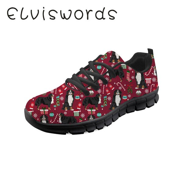Pinsen 2019 Shark Sneakers Spring and Summer New Lace-up Casual shoes Soft Pet Dog Printed Breathable women's shoes