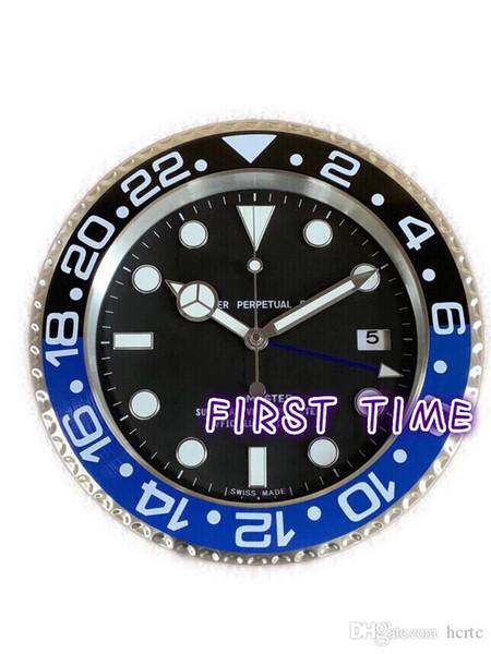top popular Home Decor wall clock modern design high quality brand new stainless steel luminous face calendars FT-GM001 2020
