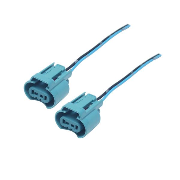 2 stücke Auto Scheinwerfer Nebelscheinwerfer Lampe 9005 HB3 Stecker Für Toyota Honda Mazda Verdrahtung Kabel Stecker Adapter # 5952