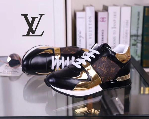 bdlouis vuittongucci alta qualidade nova moda sapatos das mulheres dos homens e calçados esportivos casuais treinador tênis