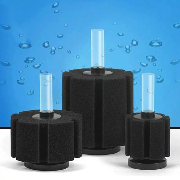 top popular 6Pcs Lot Aquarium Sponge Fry Filter Air Driven Biochemical Fish Tank Corner Filter Filtration Biochemical Sponge Interal Filter 2021