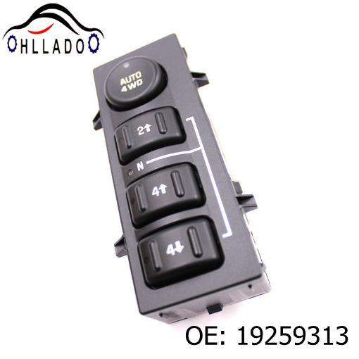 top popular HLLADO Car Front Left Driver Side Electric Power Window Switch Button 19259313 For G M C S ierra S ilverado C adillac A valanche 2021