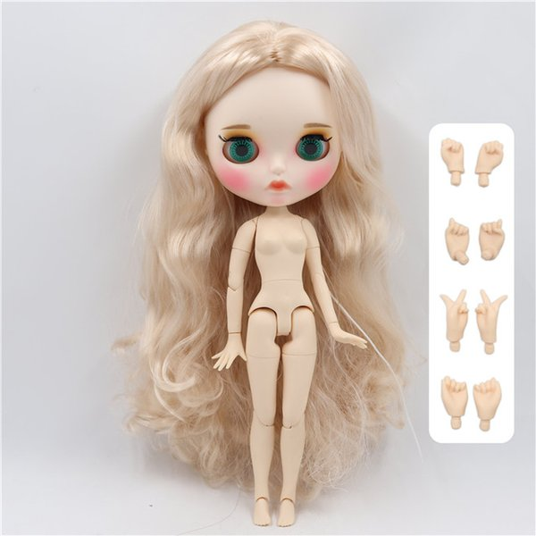Color:doll with hands B&Size:30cm nude d