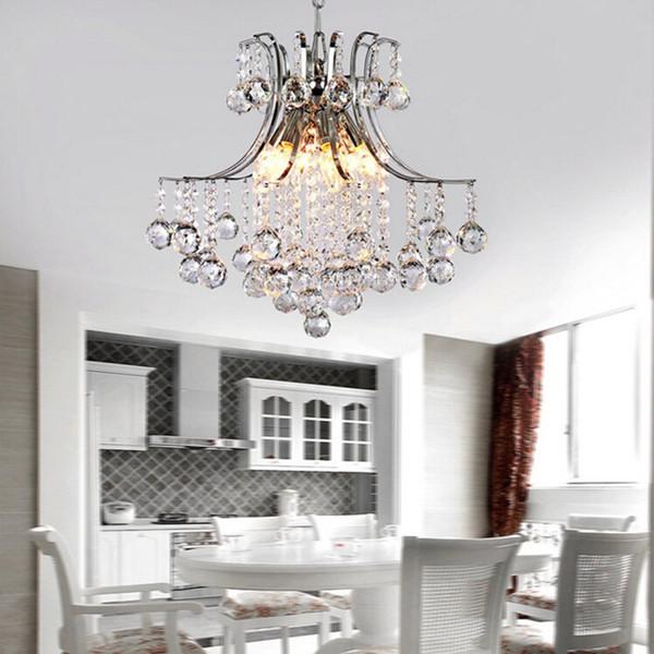 Творческий Осьминог Форма Хрустальная Люстра Простая Современная Европейская Американская K9 Crystal Droplight