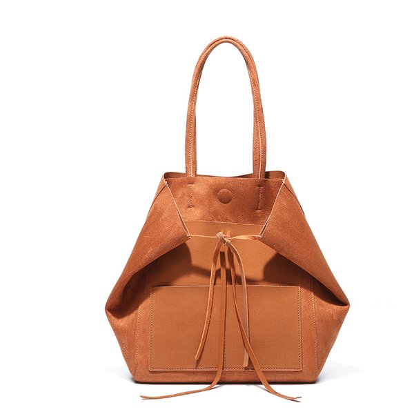 Discount new retro matte big bag simple one-shoulder female super large capacity wings bag female bag multi-color optional