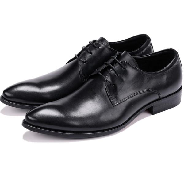 compre zapatos derby de moda para hombre zapatos de vestir para