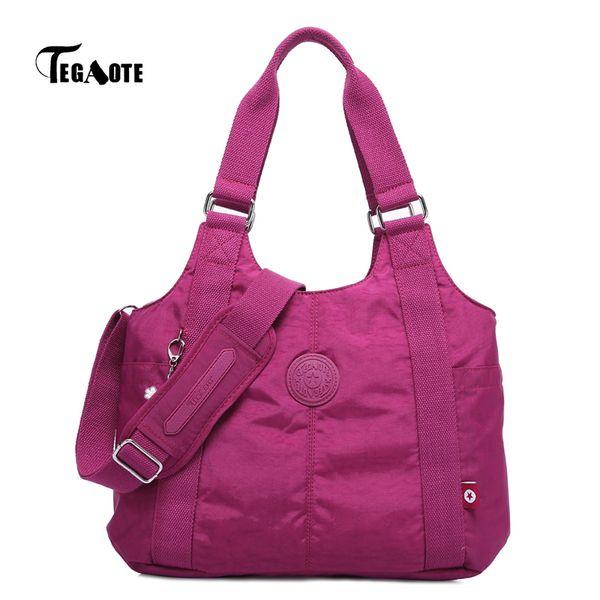 Tegaote Girl Shoulder Messenger Bag Handbags For Women Luxury Handbag Designer Top-handle Bags Casual Bolsa Feminina Mujer 2019 MX190716