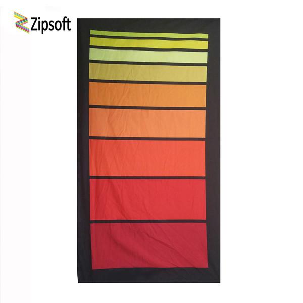Asciugamani Zipsoft con fasciatura Asciugamano da spiaggia Bandiera Quick Dry Piscina per adulti Sport Escursionismo Camping Doccia Fibre per spiaggia Novità
