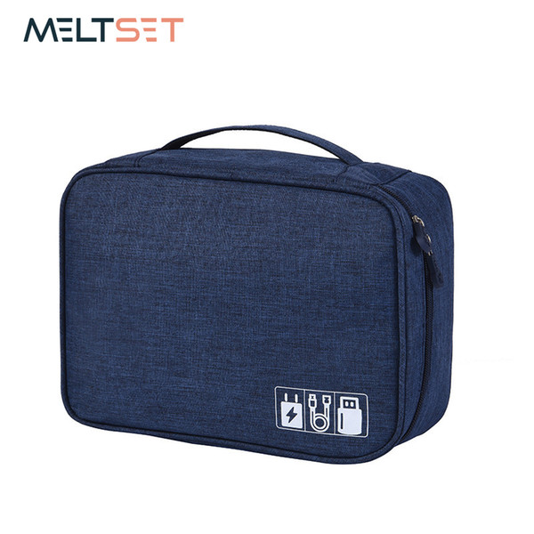 Waterproof Cable Organizer Travel Gadget Storage Bag Electronics Devices Accessories Cases USB Charger Holder Digitals Kit Bag