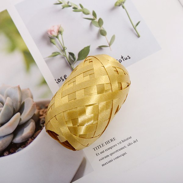 10M Gold Ribbon * 2Stk