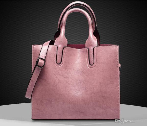 Mulheres Bolsas de moda das mulheres messenger bags Retro Feminino crossbody bag bolsa de ombro bolsa de alta qualidade Senhoras bolsa 2019 Planície Versátil