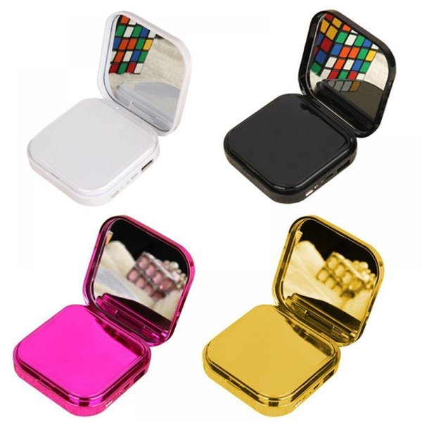 best selling Portable Power Bank for xiaomi mi iPhone Mini Pover Bank 10000mAh Makeup Mirror Powerbank External Battery Mobile Phone Chareger