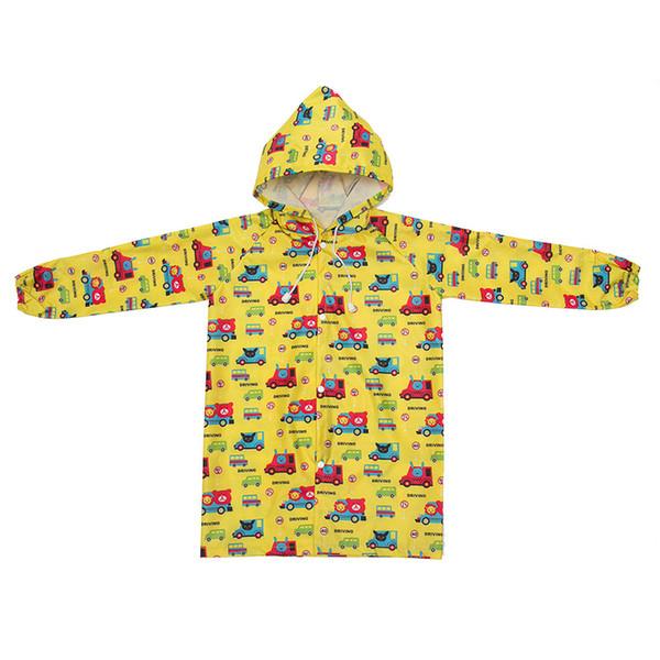 2-8 years old Kids Rain Coat children Raincoat Rainwear Rainsuit,Kids Waterproof Cute Animal Raincoat Free Shipping