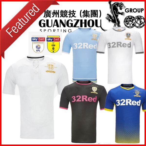 2020 HARRISON casa 19 20 Leeds United Centenario de fútbol Jersey 2019 lejos tercer hombre COSTA + niños 100º aniversario kit de camisetas de fútbol uniformes