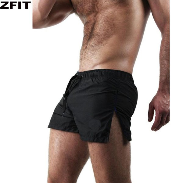 ZFIT training Running Shorts Men Soft Jogging Short Pants Breathable zipper GYM Sport Shorts Men Bodybuilding Fitness Sweatpants