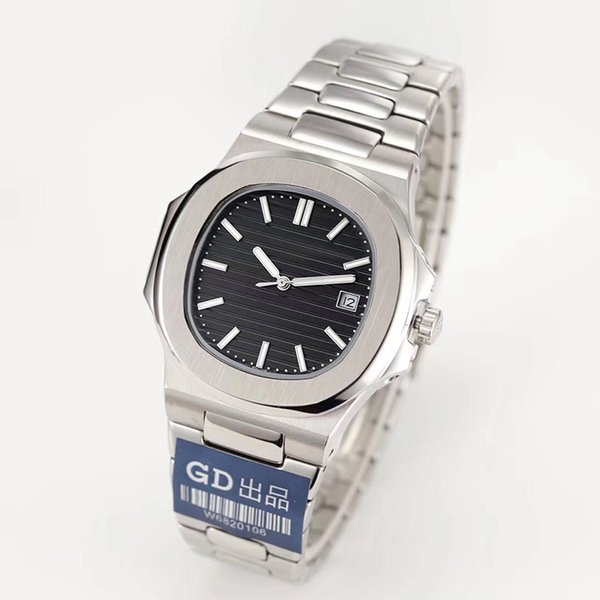 Reloj de lujo japón miyota 8215 mecánico automático hombres reloj de acero inoxidable correa nautilus alta calidad pp reloj deportivo reloj de pulsera montre