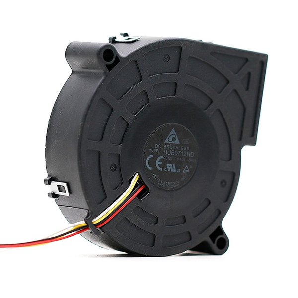 new Delta projector centrifugal turbine fan BUB0712HD BD59 12V 0.40A 4wires pwm blower