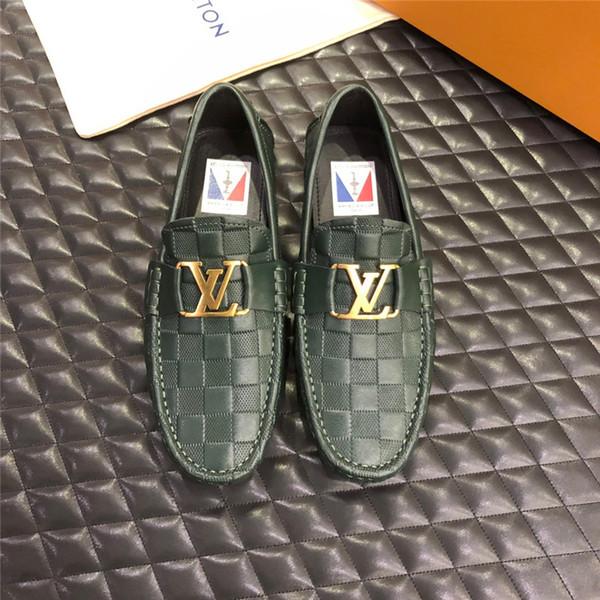 Top Quality tamanho Grande 38-45 designer de luxo Sapatos de couro ace mens sapatos plus size sapatos casuais de luxo com caixa de poeira saco D01