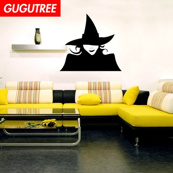 Decorare casa Hallowmas Halloween cartoon art wall sticker decorazione Decalcomanie murale pittura Wallpaper rimovibile G-2123
