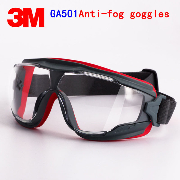 3m ga501 goggles genuine security 3m protective goggles anti-fog anti-shock riding a sport labor protection airsoft glasses thumbnail