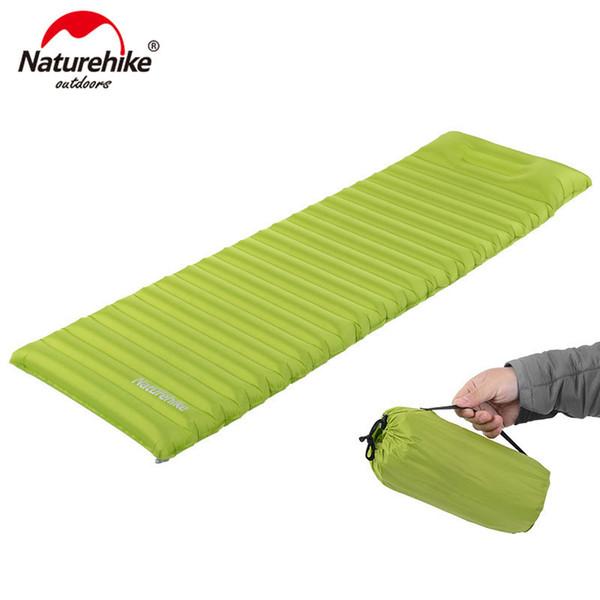 Naturehike матрас супер легкий надувной быстросъемный чехол с подушкой инновационный спальный коврик Одиночное расширение и утолщение