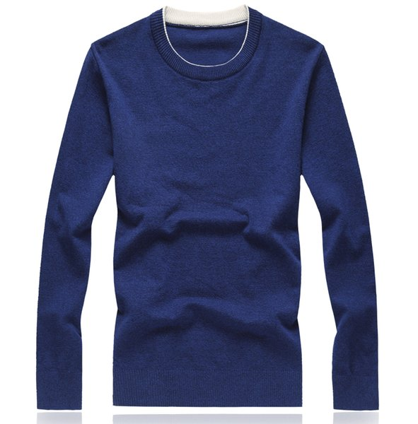 8 Colors Autumn Winter Christmas Cashmere Sweater Men Pullover Fashion Brand Mens Jumper Plus Size Mens Sweaters 2019 M-8XL