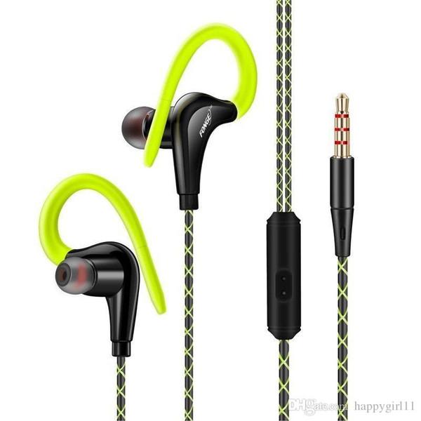 Tüm Telefon için Mikrofon 3.5mm Jack Bas Kulaklık ile spor Kulaklık E168