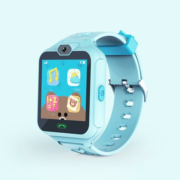 Kids Phone Smart Watch GPS Tracker Smart Watches 1.54inch Touch Screen Camera Waterproof SOS WiFi Cell Phone Watch