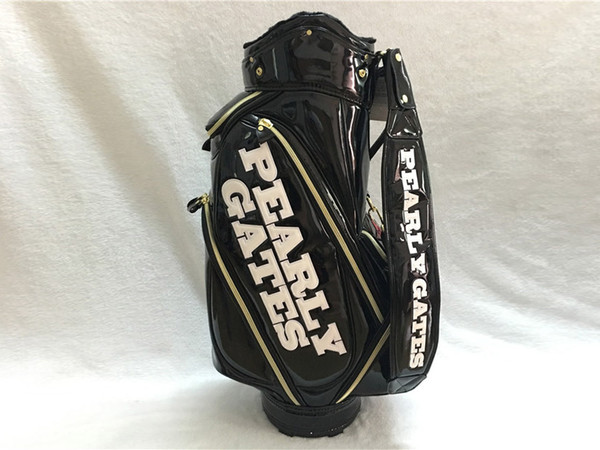 brand new pearly gates pg89 golf standard package pearly gates pu golf bag black color clubs bag ing