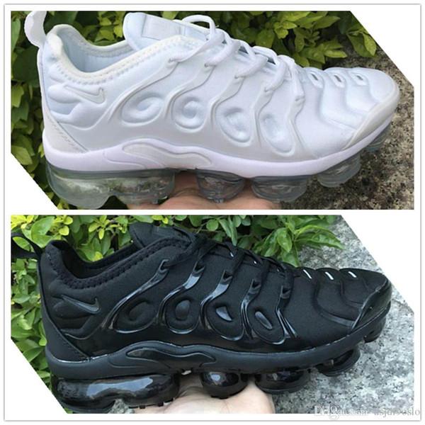 2019 2018 TN Plus Hombres Mujeres Zapatos de diseño air grape triple negro blanco sunset wolf grey Olive Metallic Silver zapatillas de deporte casuales