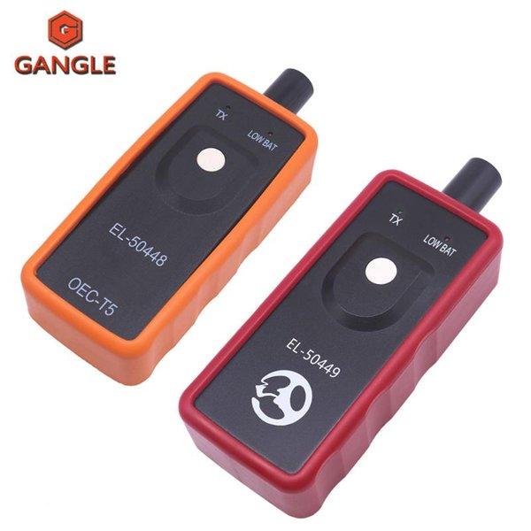 top popular EL50448 EL50449 Car Tire Pressure Monitor Sensor OEC-T5 EL 50448 For GM  EL 50449 For TPMS Reset Tool EL-50448 EL-50449 2021