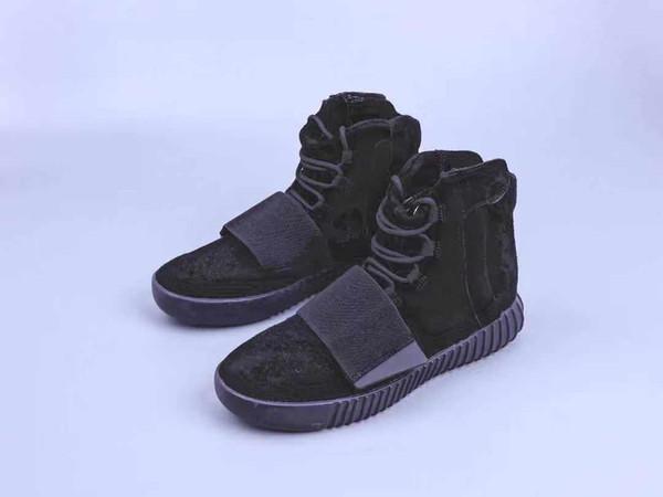 sıcak satış 750 Sneakers Açık Gri Kahverengi Üçlü Siyah Gri Kanye West Deri Çizme Erkekler Kadın Ayakkabı Koşu Sneakersyeezy750 w2