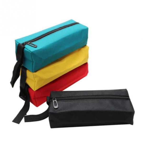 Cosmetic Bag Multifunction Oxford Waterproof Hand Tool Bag Organizer Bags for Small Tools Screws Nails Drill #235340