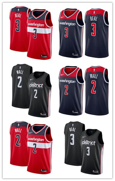 reputable site c6731 5ddb7 2018 Washington John Wall Bradley Beal Wizards2018/19 Swingman Basketball  Jersey Association City Edition From Anmuxi123, $25.13 | DHgate.Com