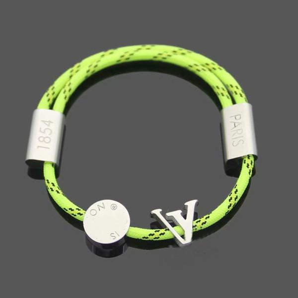 Cuerda verde / oro blanco