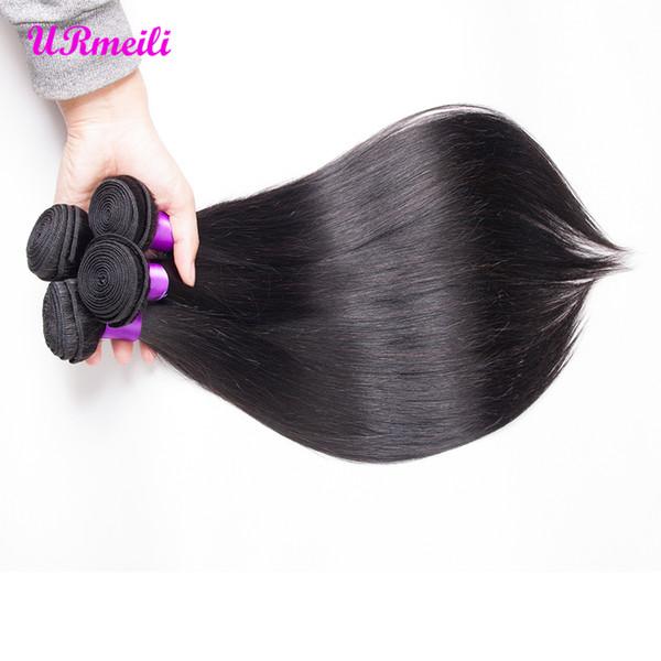 Malaysian Straight Hair Bundles 100% Human Hair Bundles Deal 100g/PC Can Buy 3/4 Bundles dhgate straight Remy Virgin Hair Extensions