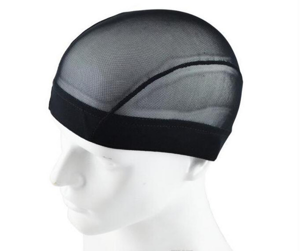 Dome Style Mesh Wig Cap Black Stretchable Weaving Caps Elastic Nylon Mesh Net For Making Wigs Glueless Hairnet Liner 3 SIZES for choose