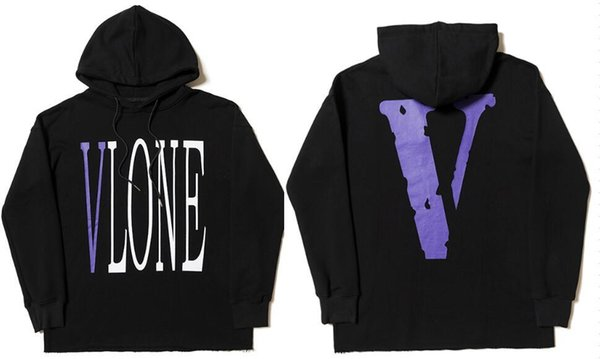 19ss Vlone Palm Angels Hoodie Sweatshirt Männer Frauen Jacken Trainingsanzug Hip Hop Streetwear Harajuku Winter Marke Mantel Hooded Fashion Pullover