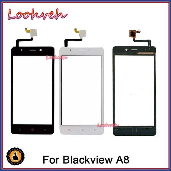 10pcs/lot High Quality 5.0''For Blackview A8 Mobile Front Touch Screen Glass Digitizer Panel Lens Sensor Flex Cable